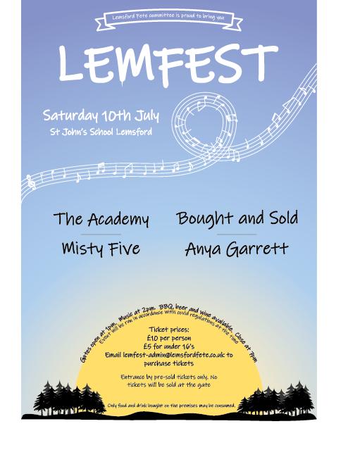 LemFest 2021 - Sat 10th July